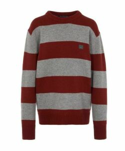 Nimah Face Block Stripe Wool Jumper