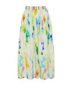 Paint Print Emme Skirt