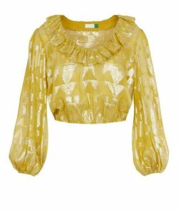 Joanna Gold Foil Top