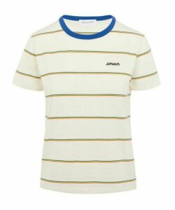 Amour Striped Rainbow T-Shirt