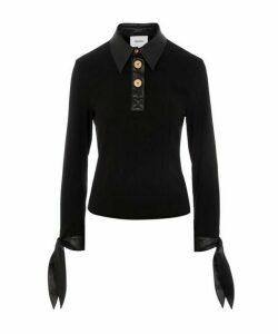 Agnes Contrast Polo Shirt