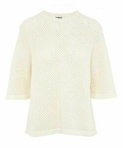 Blok Crochet T-Shirt