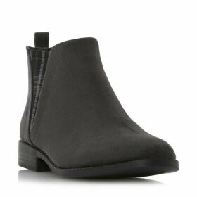 Head Over Heels Primma Checked Panel Chelsea Boots