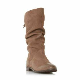 Dune Rosalindd Ruched Calf Boots