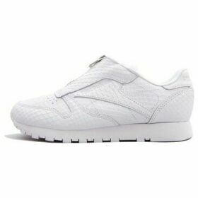 Reebok Sport  Classic Leather Zip  women's Shoes (Trainers) in White