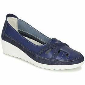 Damart  MILANI  women's Loafers / Casual Shoes in Blue
