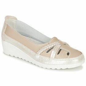 Damart  MILANI  women's Loafers / Casual Shoes in Beige