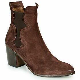 Moma  NIAGARA - OLIVER  women's Low Ankle Boots in Brown