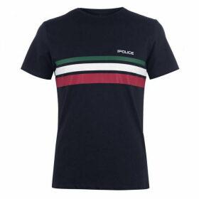 883 Police Portland T Shirt Mens