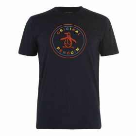 Original Penguin Logo Colour T Shirt