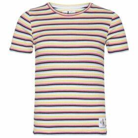 Calvin Klein Jeans Stripe Rib T Shirt