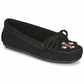 Minnetonka  THUNDERBIRD II  women's Loafers / Casual Shoes in Black