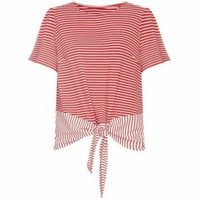 Yumi Jersey Stripe Knot Top