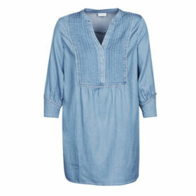 Vila  VIMAKENNA  women's Dress in Blue