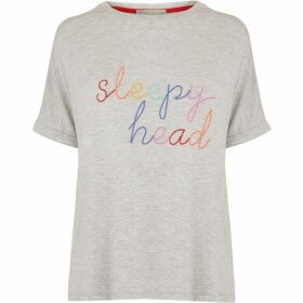 Oasis Sleepy Head Slogan Tee