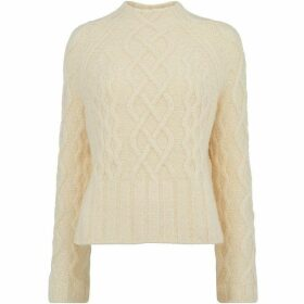 Whistles Modern Cable Sweater