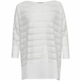 Great Plains Tabitha Jersey Perforated Detail Top