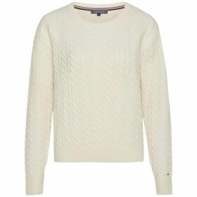 Tommy Hilfiger Aida Cable Crew-Neck Sweater