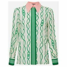 Elisabetta Franchi  CA25801E2  women's Shirt in Beige