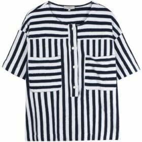 Frnch  CEDRINE striped blouse  women's Blouse in Blue
