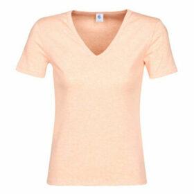 Petit Bateau  LORIS  women's T shirt in Pink