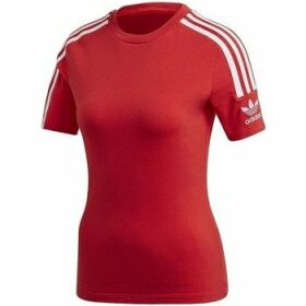 adidas  Tight Tee  women's T shirt in Red