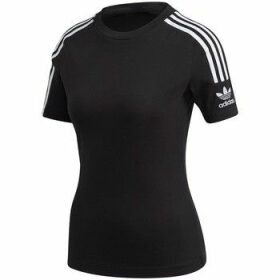 adidas  Tight Tee  women's T shirt in Black