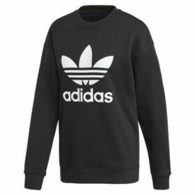 adidas  Trefoil Crew Sweatshirt  women's Sweatshirt in Black