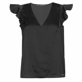 Guess  SS DAHAB TOP  women's Blouse in Black