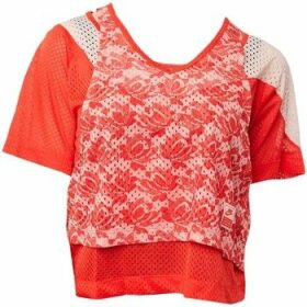 Nike  Lab Lace Layered Tshirt  women's Blouse in multicolour