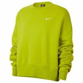 Nike  Sportswear Essentials Womens Fleece Crew  women's Sweatshirt in Green