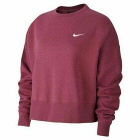 Nike  Sportswear Essentials Womens Fleece Crew  women's Sweatshirt in Pink