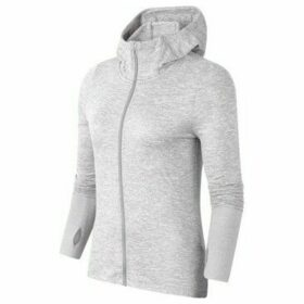 Nike  Fullzip Running Hoodie W  women's Sweatshirt in Grey