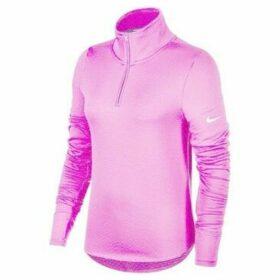 Nike  Therma Sphere  Top Halfzip W  women's Sweatshirt in Pink