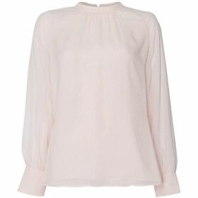 Max Mara Studio Placido long sleeve blouse