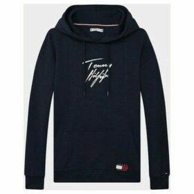 Tommy Hilfiger  UW0UW02300 HOODIE LWK  women's Sweatshirt in Blue