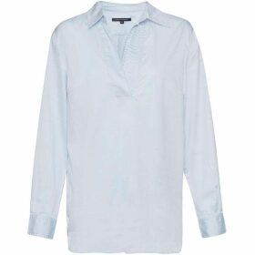 French Connection Oldenburg Stitch V Neck Shirt