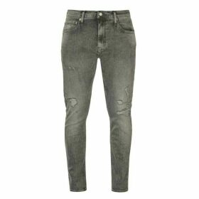 Calvin Klein Jeans Slim Ripped Jeans