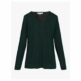 Gerard Darel Soline Merino Wool Jumper, Green