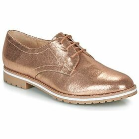 André  CICERON  women's Casual Shoes in Gold