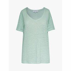Gerard Darel Janela Linen T-Shirt