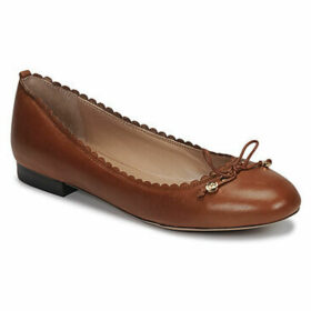 Lauren Ralph Lauren  GLENNIE FLATS CASUAL  women's Shoes (Pumps / Ballerinas) in Brown