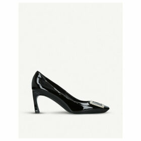 Belle Vivier patent-leather courts