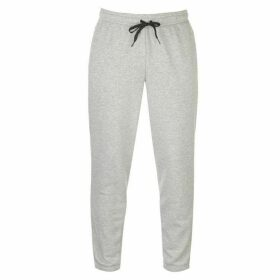 adidas Linear Tapered Fit Jogging Bottoms Mens - MedGrey/Black