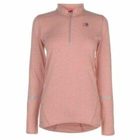 Karrimor XLite MI Zip Top Ladies - Dusky Pink Marl