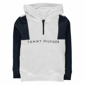 Tommy Hilfiger Colour Block OTH Hoodie - Bright White