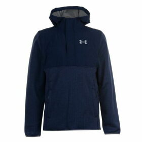 Under Armour Swacket Over The Head Hoodie Mens - Navy