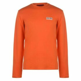 HUGO Dyderabad T Shirt - 821 Brt Orange
