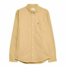Jack Wills Wadsworth Plain Oxford Shirt - Camel