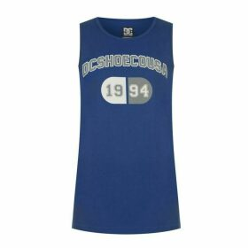 DC Desight Tank Top Mens - Blue